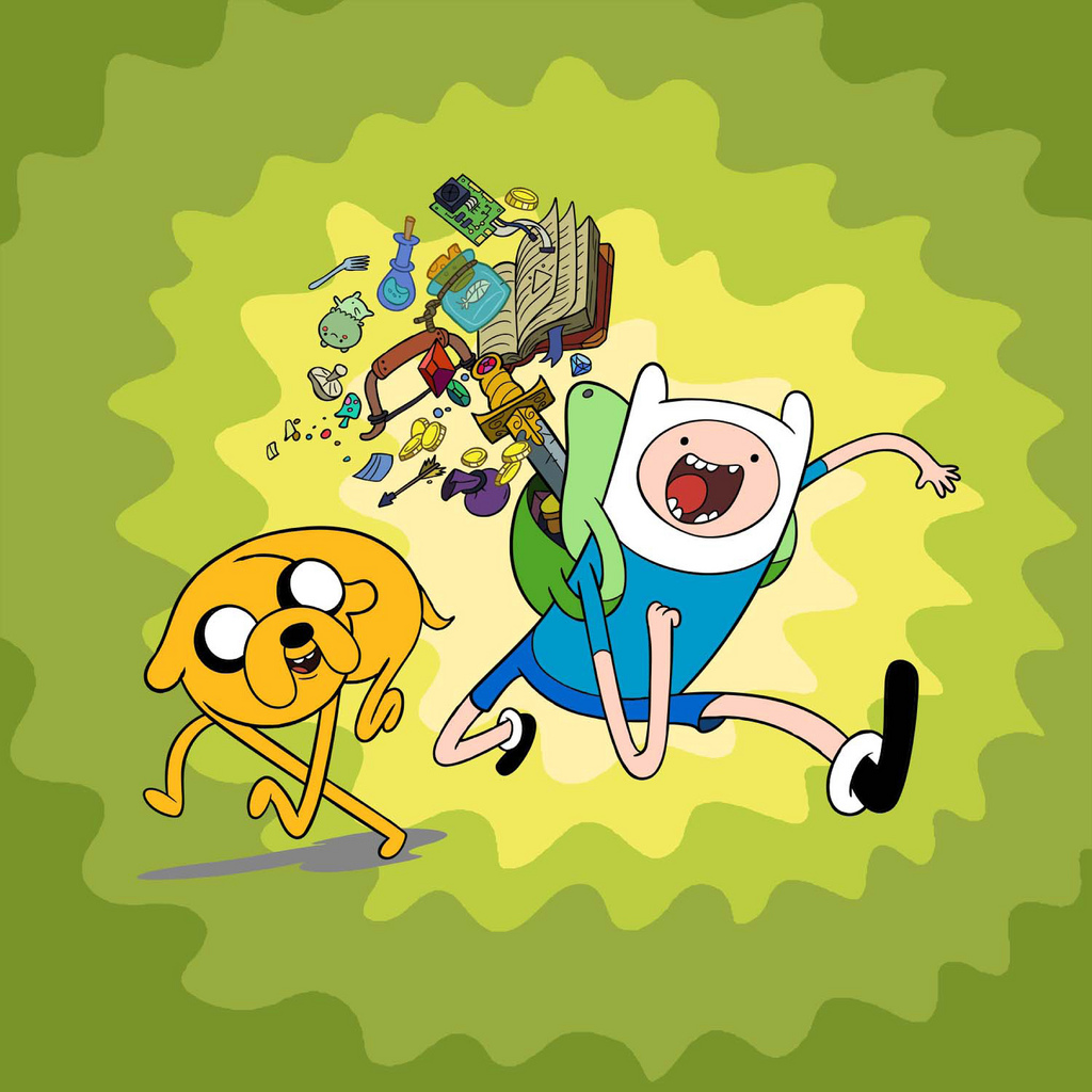 Puzzle for Adventure Time with Finn and Jake